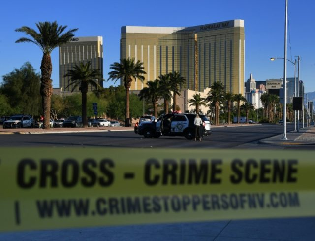 The gunman holed himself up inside a hotel room on the 32nd floor of Las Vegas' Mandalay Hotel and opened fire on a crowd of 22,000 people down below