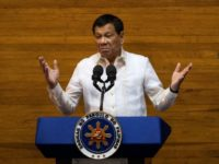Duterte said he would resort to a revolutionary government, as opposed to martial law that would require congressional approval, if communists and other opponents tried to destabilise his rule