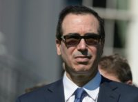 US Treasury Secretary Steven Mnuchin said talks were continuing during the 2017 meetings of the World Bank and International Monetary Fund