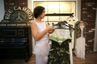 With the departure of international brands such as Zara and Levi's from Donetsk, the rebels' self-declared capital in war-torn east Ukraine, local designers have snapped up the space, opening boutiques where the military look is all the rage