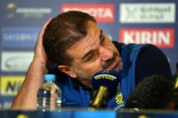 Ange Postecoglou has failed to confirm or deny reports that he is considering quitting the Socceroos