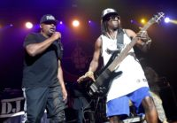 Public Enemy frontman Chuck D (L) serves on an executive committee behind the Smithsonian's plan to create the most comprehensive anthology ever of hip-hop recordings