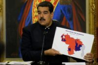 """Our people have given a strong message to imperialism, to Trump, to its regional allies and to the local right-wing,"" Venezuelan President Nicolas Maduro told a news conference after the opposition rejected the results and the US and EU said they were flawed"