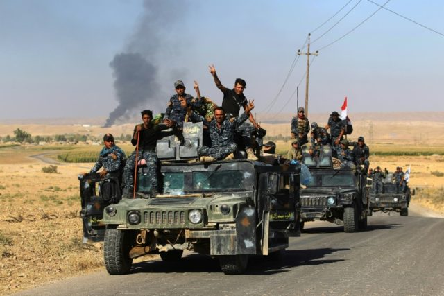 Islamic State ambushes Iraqi Shia-led force, kills 27 fighters