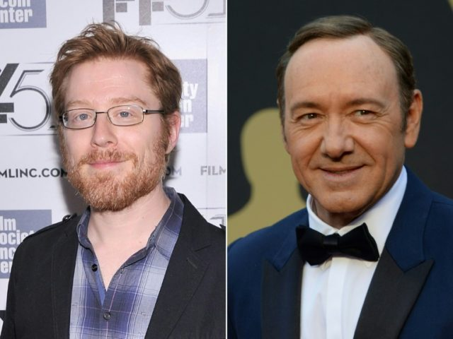 Actor Anthony Rapp (L) has accused actor Kevin Spacey of making sexual advances more than 30 years actor, when the former was just 14 years old