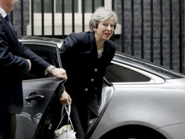 Man accused of plotting to assassinate British PM Theresa May