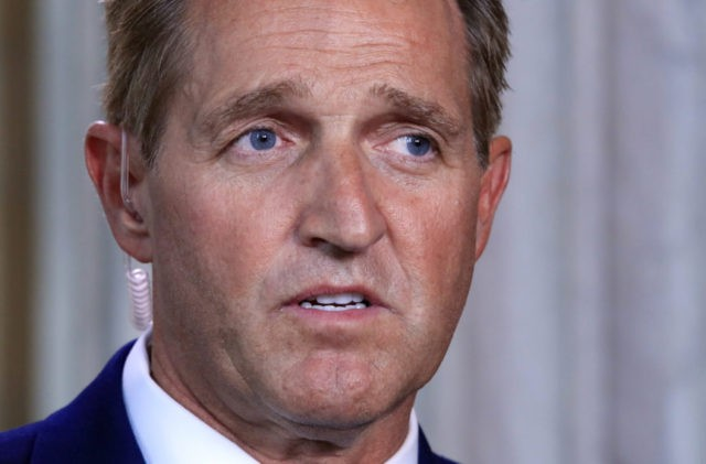Jeff Flake: GOP is 'toast' if it becomes party of Trump, Moore