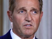 Jeff Flake Caught on Live Mic Saying GOP Is 'Toast' Under Leadership of Moore, Trump