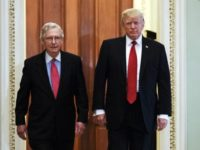 Donald Trump, Mitch McConnell