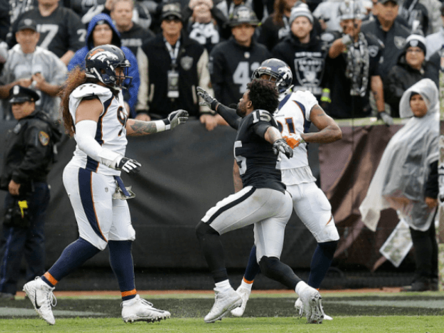 Crabtree, Jackson, Talib ejected during Raiders-Broncos free-for-all