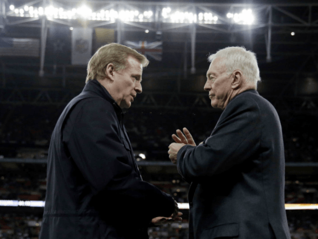 NFL says Jerry Jones' actions are 'detrimental' to league