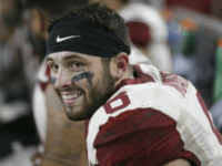 WATCH: Oklahoma's Baker Mayfield Grabs Crotch, Shouts 'F**k You!' at Kansas Sideline