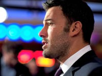 Director and actor Ben Affleck speaks with reporters at the premiere of his film Argo in Washington, Wednesday, Oct. 10, 2012. Argo is based on covert operation to rescue six Americans during the Iran hostage crisis in 1979. (AP Photo/Cliff Owen)