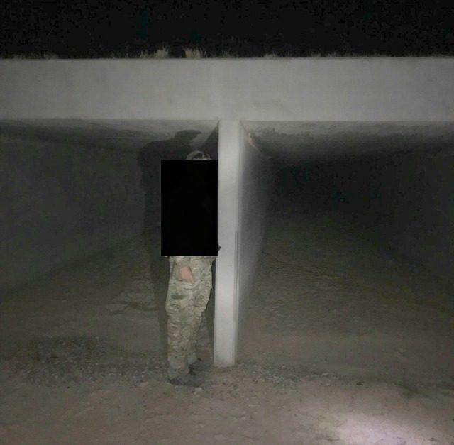 Scene of Border Patrol Agent Injuries