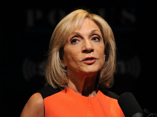 NBC News Chief Foreign Affairs correspondent Andrea Mitchell during an interview on the 'SiriusXM Leading Ladies' series at SiriusXM studios on August 15, 2013 in Washington, DC. (Photo by Larry French/Getty Images)