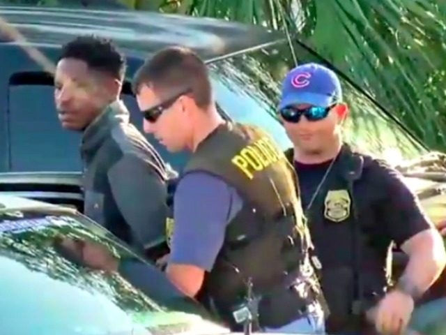 Arrest of Tampa Gunman
