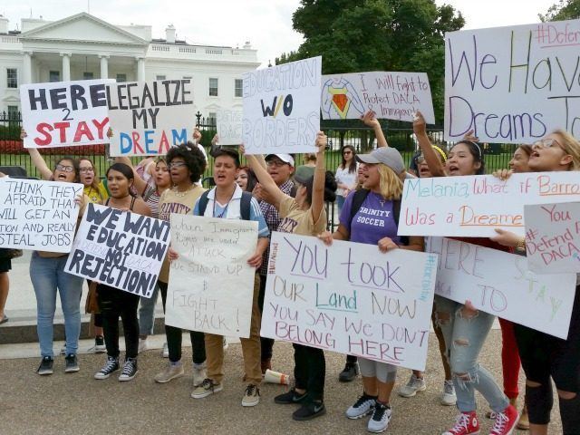 DACA White House Protest