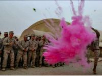 Baby Gender Reveal Marine Base