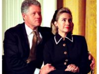 Book Claims Bill Clinton Put Secret Service Officer's Hand on Hillary's Rear
