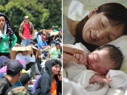 Chain Migration Immigrants, Mother and Newborn Split