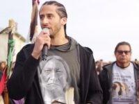 Colin Kaepernick at Alcatraz (Screenshot / Twitter)