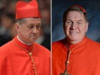 Cardinals Blase Cupich and Joseph Tobin