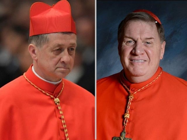 Cardinals Blase Cupich and Joseph Tobin