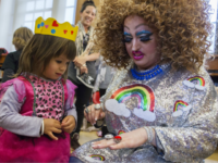 Protesters Swarm Long Island 'Drag Queen Story Hour'