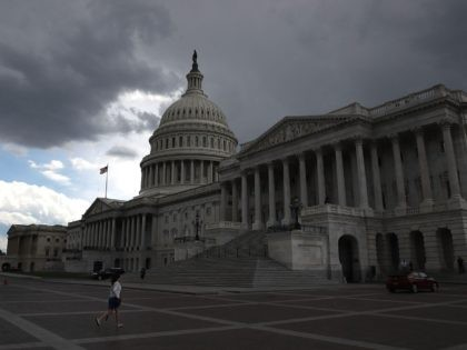 Dark Capitol (Mark Wilson / Getty)