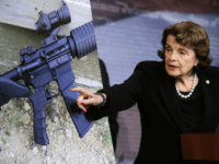 Sen. Dianne Feinstein, D-Calif., speaks during a news conference about gun legislation on Capitol Hill in Washington, Wednesday, Oct. 4, 2017. AP Photo/Manuel Balce Ceneta)