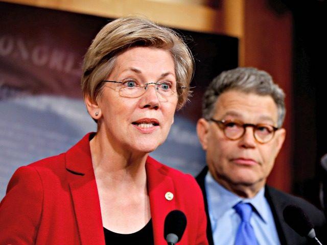 Elizabeth Warren, Al Franken