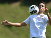 BOLZANO, ITALY - JULY 24: Eran Zahavi in action during a US Citta di Palermo pre-season training session at Sport Well Center on July 24, 2012 in Malles Venosta near Bolzano, Italy. (Photo by Tullio M. Puglia/Getty Images)