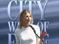 Honoree Faith Hill during the Nashville Music City Walk Of Fame Induction Ceremony at Nashville Music City Walk of Fame on October 5, 2016 in Nashville, Tennessee. (Photo by Rick Diamond/Getty Images)