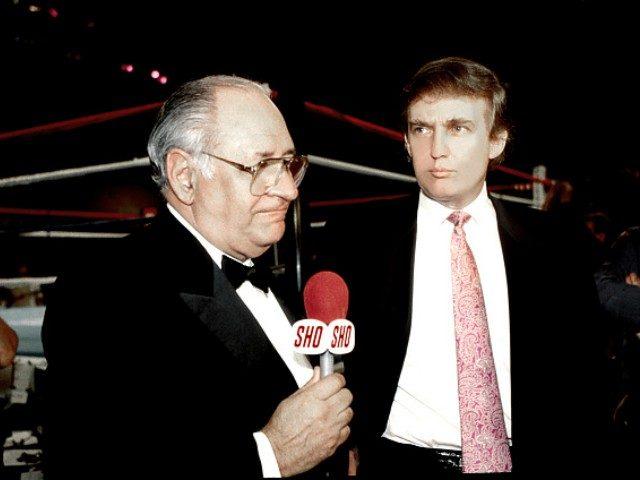 Ferdie Pacheco and Donald Trump