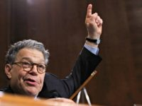 Al Franken Finger in Air