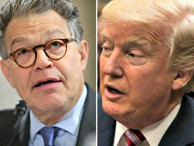 WH: Franken Admitted Wrongdoing, Trump Hasn't