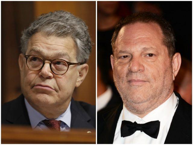Franken Weinstein AP/Getty