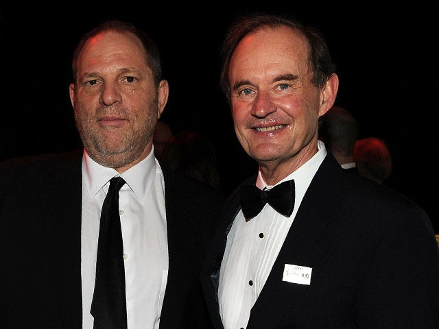 NEW YORK, NY - APRIL 26: Michael Elliot, Harvey Weinstein and David Boies attend the TIME 100 Gala, TIME'S 100 Most Influential People In The World at Frederick P. Rose Hall, Jazz at Lincoln Center on April 26, 2011 in New York City. (Photo by Larry Busacca/Getty Images for TIME)