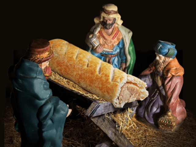 Greggs apologises for swapping Jesus with a sausage roll in Nativity Scene