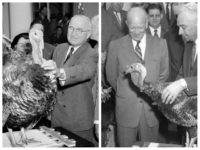 Waste Not, Want Not: Presidents Eisenhower and Truman Gave No 'Pardons,' Ate Their Thanksgiving Turkeys