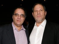 NEW YORK - NOVEMBER 16: Producer Bob Weinstein and producer Harvey Weinstein attends the New York premiere of Dimension Films' 'The Road' at Clearview Chelsea Cinemas on November 16, 2009 in New York City. (Photo by Mark Von Holden/Getty Images for Dimension Films)