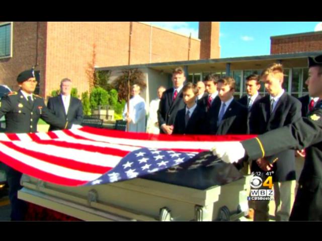 High School Funeral for Veteran
