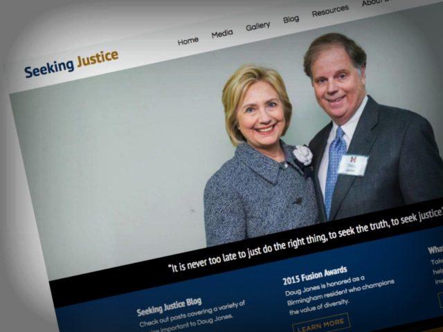 Hilary Doug Jones Website