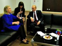 Hillary Clinton and Putin