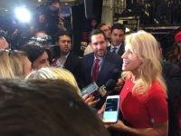 Kellyanne Conway, Election Night (Joel Pollak / Breitbart News)