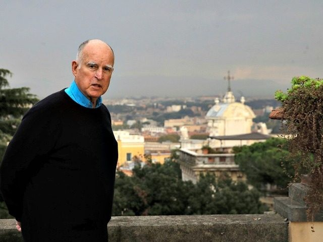 Jerry Brown Abroad