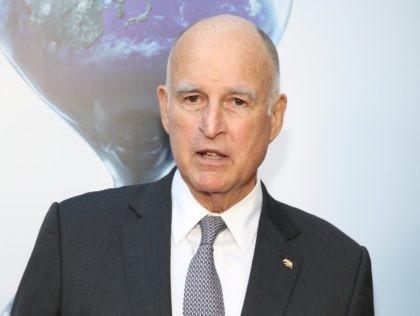 Jerry Brown world (Jonathan Leibson / Getty)