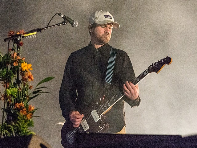 Jesse Lacey of Brand New performs at the Voodoo Music Experience in City Park on Saturday, Oct. 28, 2017, in New Orleans. (Photo by Amy Harris/Invision/AP)