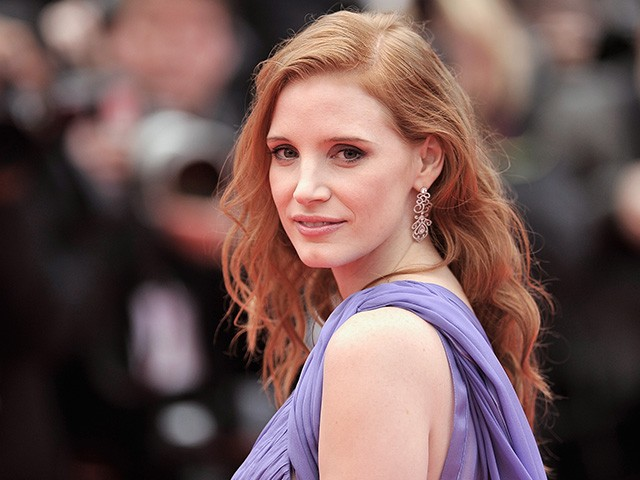 CANNES, FRANCE - MAY 19: Jessica Chastain attends the 'Foxcatcher' premiere during the 67th Annual Cannes Film Festival on May 19, 2014 in Cannes, France. (Photo by Gareth Cattermole/Getty Images)