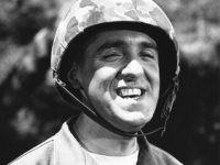 FILE - Jim Nabors is seen in character for his role of Gomer Pyle in this 1966 file photo. Hawaii News Now reports Jim Nabors and his partner, Stan Cadwallader, traveled from their Honolulu home to Seattle to be married Jan. 15, 2013. The couple met in 1975 when Cadwallader …